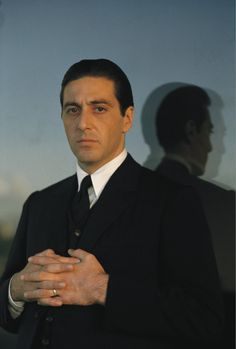 Portrait of Don Michael Corleone played by Al Pacino. (The Godfather II) © Steve Schapiro