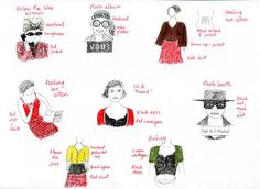 More of Amelie's outfits