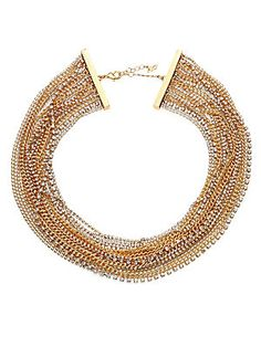 ABS by Allen Schwartz Jewelry Out Last Night Multi-Strand Necklace