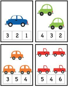 Car Alphabet, Number and Pattern Cards ~ Preschool Printables Cars Preschool, Numbers Preschool, Preschool Learning Activities, Learning Numbers, Preschool Printables, Kids Learning, Preschool Writing, Math Numbers, Printable Worksheets
