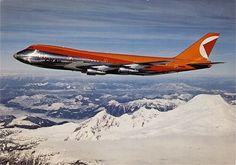 CP Air B747-200 Postcard