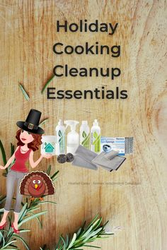 These holiday cooking cleanup essentials will make your cleanup faster, easier and safer so you can get back to arguing with crazy Uncle Time about religion, politics and why his team didn't win the game. #cookingcleanup Chemical Free Cleaning, Easy Cooking, Clean Up, Religion, Essentials, Politics, Make It Yourself, Canning, Game