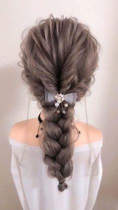 Nurse Hairstyles, Office Hairstyles, Ponytail Hairstyles, Pretty Hairstyles, Braided Hairstyles, Casual Hairstyles For Long Hair, Hairdo For Long Hair, Hair Updos For Medium Hair, Medium Hair Styles