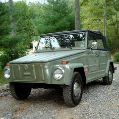 thing Volkswagen 181, T3 Vw, Volkswagen Models, My Dream Car, Dream Cars, Vw Classic, Nissan Xterra, Buggy, Jeep Life