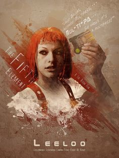 The Fifth Element - Leeloo by Anthony Genuardi *