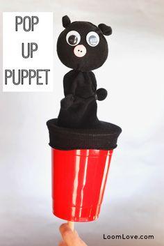 How to Make a Pop-Up Puppet