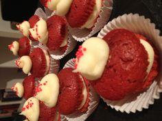 Redvelvet mini cakes