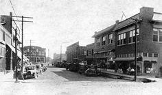 Wilson Street in Wynne, Arkansas (Cross County), looking south; circa early 1900s.