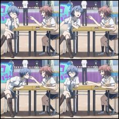Yuri Anime, Manga Anime, Anime Art, Riddle Story Of Devil, Akuma No Riddle, Anime Ships, Riddles, Shoujo, Geek Stuff
