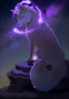 Blazelight white wolf,cleaver and strong fighter and has purple plasm power and telekinesis power (me)
