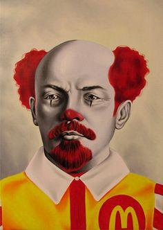 McLenin's - oil on canvas - cm70x50 - 2013