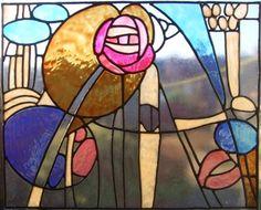 Mackintosh Panel Style 1 Window Cling