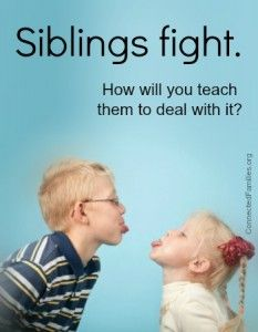 sibling conflict resolution
