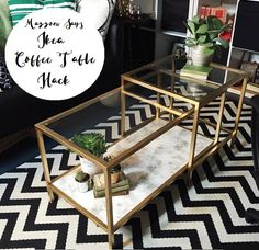 I wanted to upscale our coffee table in our home however all the tables I wanted were way out of my budget so I decided to take to the spray can and do it myself. There are a few versions of these ...
