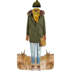 *Walk in the Winter*, created by nyamanyama on Polyvore