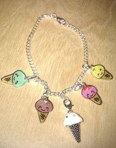 Shrinkles - I scream for Ice Cream bracelet £5.00