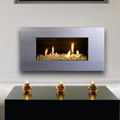 Best Reviews Escea ST900 Indoor Propane Fireplace Stainless Steel With White Ceramic Stones For Sale Online