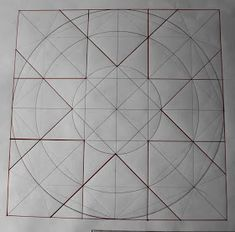 I was taking a look at the geometric 'skeleton' upon which the composition will be made. Sacred Geometry goes back to ancient Greece, but th...
