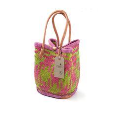 Bucket bag - bougainvillea