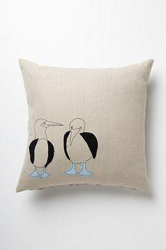 Galapagos Pillow #anthropologie