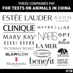 These companies test on animals. But there's one thing that you can do to stop them. Check this list to make sure you're not supporting these brands.
