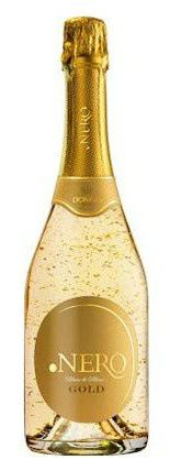 Sparkling Wine with edible gold is the fancy launch of Domnobrasil (Brazil)
