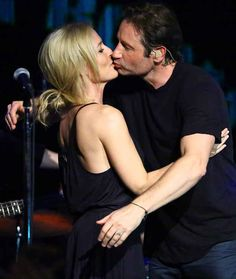 #ATTHS... I swear I'm NOT a snogger, but some days it is so easy to see it, especially when things like this happen. GA & DD sing together and kiss onstage