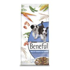 $9.98-$16.64 Purina Beneful 100% complete & balanced nutrition healthy growth for puppies. Abundant nutrition to grow up happy, healthy and strong! Moist chunks made with chicken are rich in protein for growing muscles. Enriched with all the calcium of real milk for developing bones and teeth. Formulated to be lactose free. Contains vegetables, including peas and carrots and other vitamin & miner ...