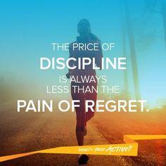 Self discipline and 5 bite