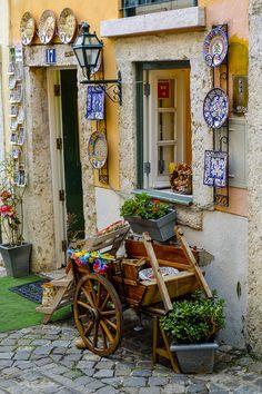 Shop in Alfama, Lisbon, Portugal Portugal Holidays Enjoy Portugal…