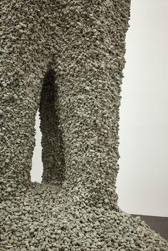 15 Must-See Installations at the Chicago Architecture Biennial,Gramazio Kohler Research, ETH Zurich (Zurich, Switzerland) + Self-Assembly Lab, MIT (Cambridge, Massachusetts, US). Rock Print, 2015. Photo Tom Harris, © Hedrich Blessing. Courtesy of the Chicago Architecture Biennial