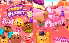 Candy Planet Factory TutoTOONS Kids Games Educational Android İos Free G...