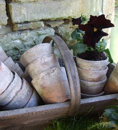 can never have enough old trugs~available at American Home & Garden in Ventura CA