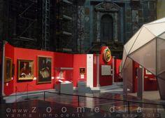 """Allestimento della mostra """"Nello splendore mediceo. Papa Leone X e Firenze"""" nella Cappella dei Principi  http://www.zoomedia.it/Firenze/eventi/san_lorenzo/cappelle_medicee/nello_splendore_mediceo/"""