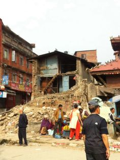 Earthquake disaster, Chabel kathmandu nepal