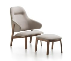 Wolfgang High Back Lounge by Fornasarig | Lounge chairs