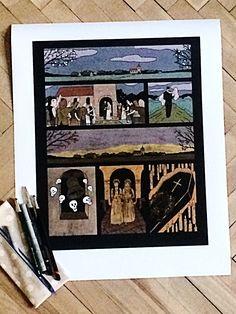 Štědrý den -Marek Rubec #komiksovakytice #ceskygrimm #kjerben #stedryvecer Grimm, Den