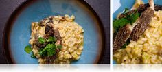 Morel Risotto with Caramelized Onion Butter