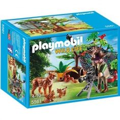 Playmobil 5561: Familia de linces. Precio: 19,95 € Disponible en: http://www.playmoclicks.com/es/country-wild-life/1132-playmobil-5561-familia-de-linces.html