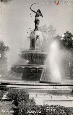 Fotos de Ciudad de México, Distrito Federal, México: Fuente de la Diana Cazadora