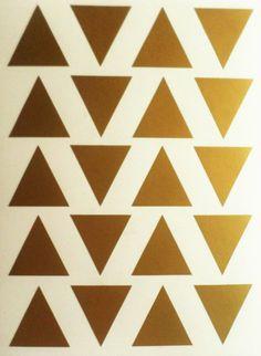 25 triángulo etiqueta triángulo calcomanía vinilo pared pegatinas Scrapbooking…