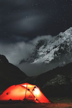 Camping in the Andes, Peru | Quin Murray