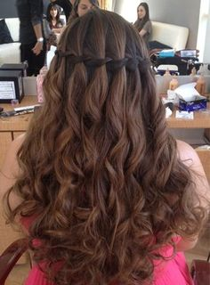 Waterfall braid for Breanna ;))