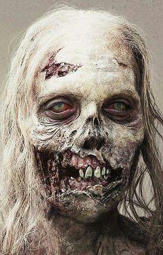 the-walking-dead-art - Posts tagged zombiecountdown Zombie Art, Zombie Makeup, Zombie Pics, Sfx Makeup, Walking Dead Zombies, Fear The Walking Dead, Maquillaje Halloween, Halloween Makeup, Zombie Monster
