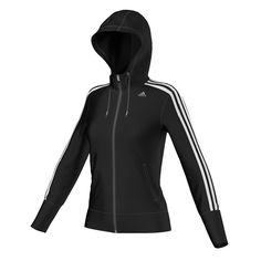ae55ce042fa6 adidas Climacool Training Core Hooded 3-Stripes Tracktop