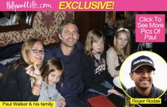 Paul Walker's Family: Why They're Not Blaming Roger Rodas For Crash Paul Walker Family Angry