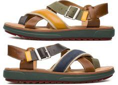 d8813dc7f Camper Twins K100054-002 Sandals Men. Official Online Store USA Camper  Sandals