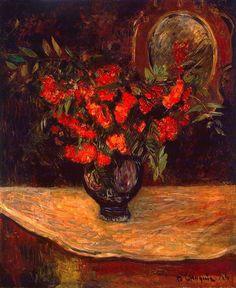Bouquet, Paul Gauguin