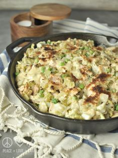 Cabbage Noodle Low Carb Tuna Casserole - Low Carb, Gluten Free