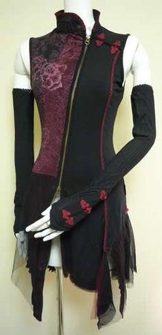 Mode Outfits, Fashion Outfits, Womens Fashion, Steampunk Fashion, Gothic Fashion, Style Lolita, Punk Dress, Fantasy Dress, Character Outfits